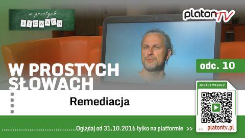 TV UMCS dla PlatonTV - dr hab. Paweł Frelik o remediacji