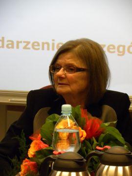 Spotkanie z p. prof. Barbarą Perczyńską