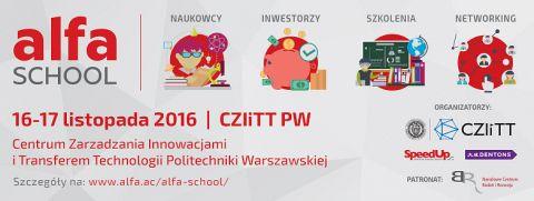 Nowa ALFA SCHOOL już w listopadzie!