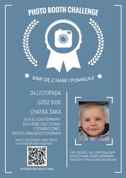 Photo Booth Challenge 2016 - bawiąc się pomagamy!