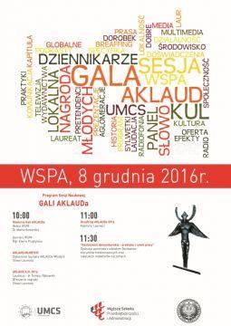 Gala Aklaud 2016 – zaproszenie