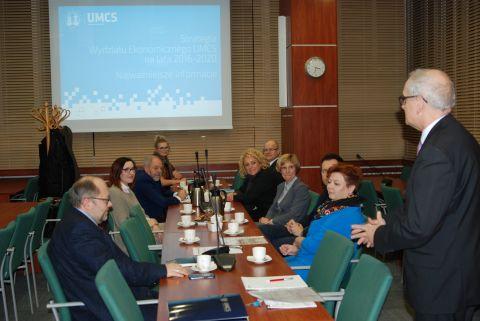 Inauguracyjne posiedzenie Rady Przedsiębiorców