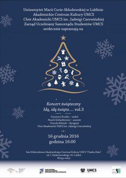 Wigilia Akademicka UMCS i koncert świąteczny Krystyny Prońko