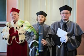 Honoris Causa Doctorate for Prof. Teresa Łoś - Nowak