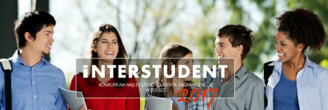 Zagłosuj na kandydata UMCS w konkursie INTERSTUDENT 2017