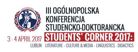 """Students' Corner 2017"" (3-4 kwietnia 2017)"