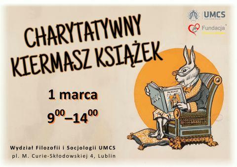 Charytatywny Kiermasz Książek