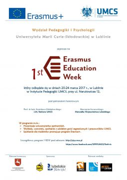 1st Erasmus Education Week na WPiP