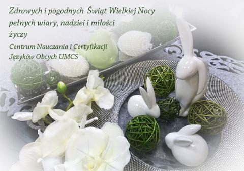 Wielkanocne Życzenia Świąteczne od Centrum Nauczania i...