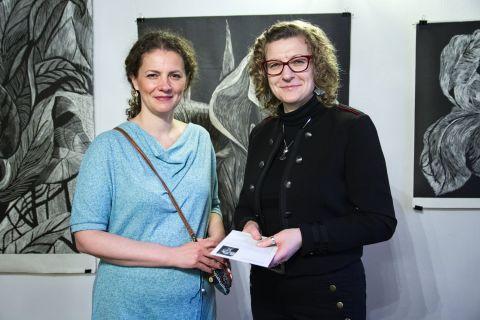 Wystawa grafik Marty Bożyk w Dworku Kościuszków