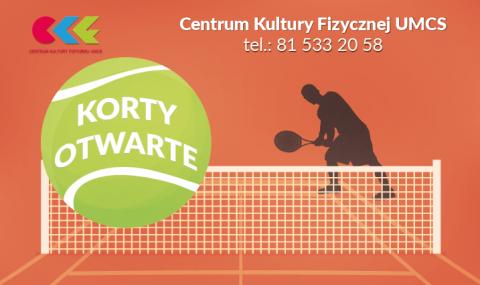 Korty tenisowe CKF UMCS - otwarcie 14.05.2017