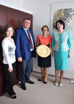 Wizyta delegacji z Drohobycza