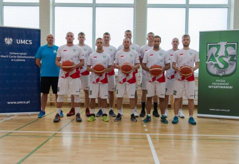 Brąz koszykarzy na Akademickich Mistrzostwach Europy