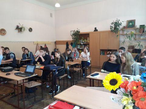 Зустрічі в львівських школах