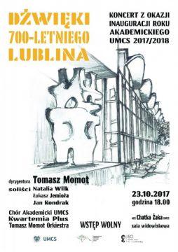 Dźwięki 700-letniego Lublina. Koncert Tomasza Momota