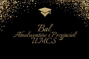 Zaproszenie na Bal Absolwentów i Przyjaciół UMCS