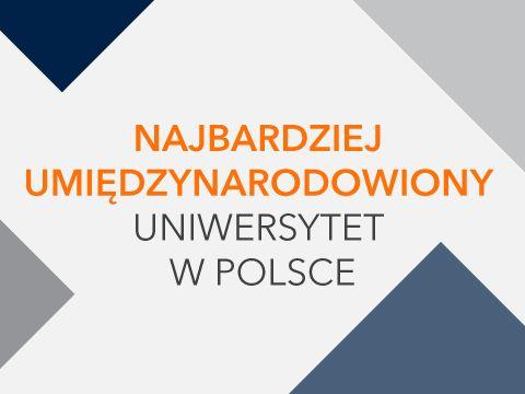 UMCS na I miejscu w Polsce