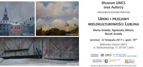 """Wystawa """"Uroki i przejawy wielokulturowości Lublina"""" -..."""