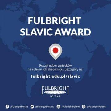Fullbright Slavic Award