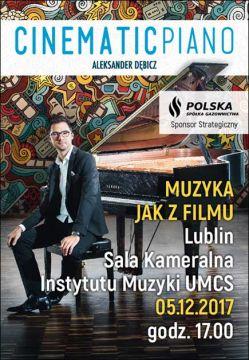 Recital Aleksandra Dębicza (5 grudnia)