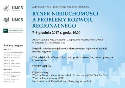 Konferencja: Rynek nieruchomości a problemy rozwoju...