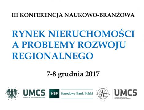 Rynek nieruchomości a problemy rozwoju regionalnego - III...