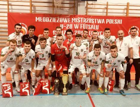 Wicemistrzostwo Polski w futsalu U-20
