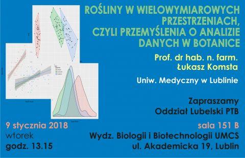 Wykład Prof. dr hab. Łukasza Komsty