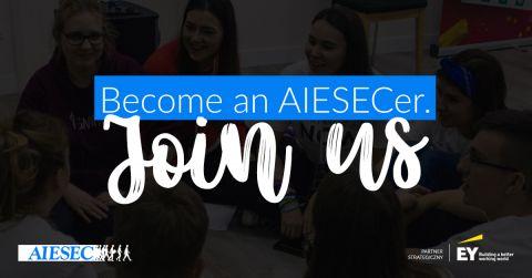 Dołącz do AIESEC – globalnej organizacji młodych!