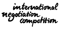 INTERNATIONAL NEGOTIATION COMPETITION 2018  NATIONAL ROUND