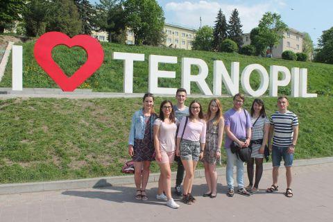 Студенти УМКС в Тернополі