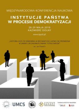 """Konferencja """"Instytucje państwa w procesie..."""