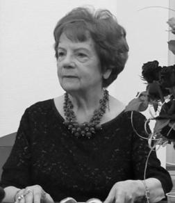 Pożegnanie zmarłej śp. Profesor Haliny Wiśniewskiej