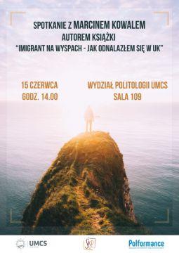 Spotkanie autorskie z Marcinem Kowalem