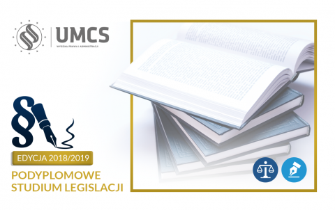 Zapisz się na Podyplomowe Studium Legislacji!