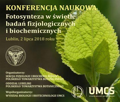 """Konferencja """"Fotosynteza w świetle badań..."""""""