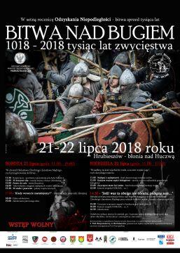 ZAPRASZAMY ! Rocznica bitwy nad Bugiem 1018-2018