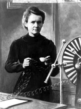 Maria Curie-Sklodowska voted the most influential woman...