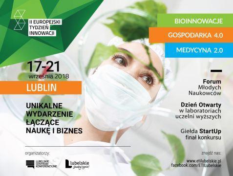 II Europejski Tydzień Innowacji - 17-21 września 2018 r.