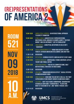 "Konferencja ""(Re)presentations of America 2"""