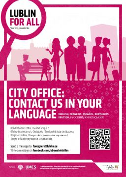 Language support service for foreign nationals in Lublin