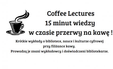 Coffee Lectures już od 5 grudnia!