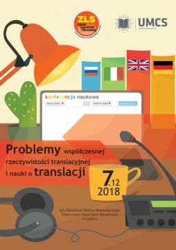 Zaproszenie na konferencję AL TRANSLATICA 2018