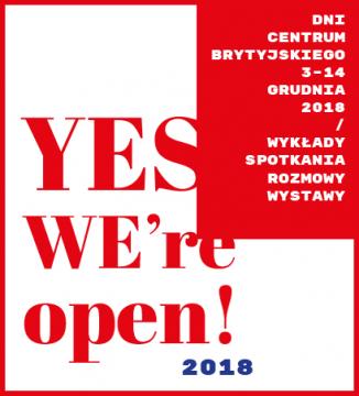 """""""Yes, we are open"""" w Centrum Brytyjskim UMCS do..."""