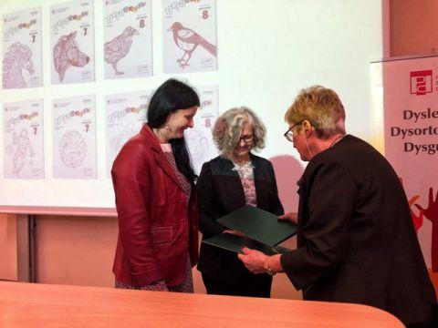 Pracownice UMCS z Nagrodą Polskiego Towarzystwa Dysleksji