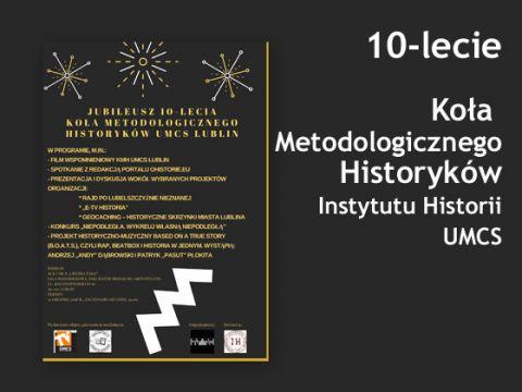 Jubileusz Koła Metodologów Historii