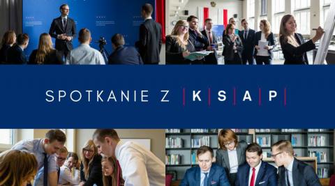 Rekrutacja do KSAP - spotkania informacyjne