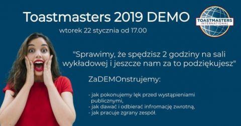 Zaproszenie na spotkanie DEMO!