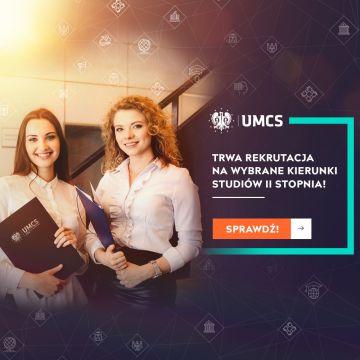 Rekrutacja na wybrane kierunki studiów II stopnia