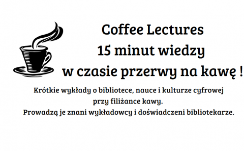 Coffee Lectures - 15 maja!